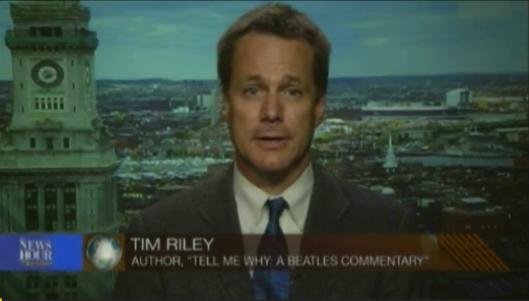 Tim Riley on PBS NewsHour